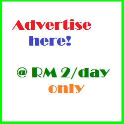 Advertise Here RM2 only
