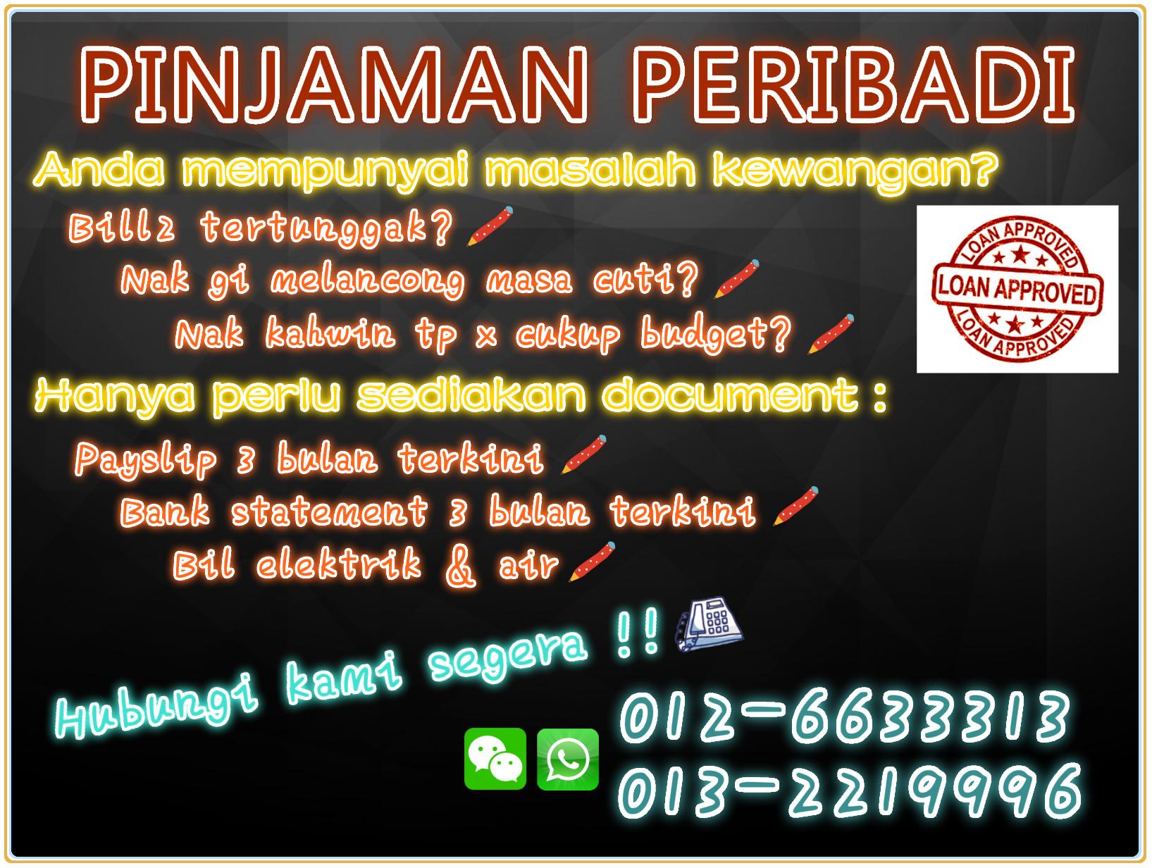 Lisenced Personal Loan-Pinjaman Peribadi-Pinjaman Wang ...